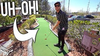 THIS IS GOING TO MAKE THIS MINI GOLF GAME INTERESTING!