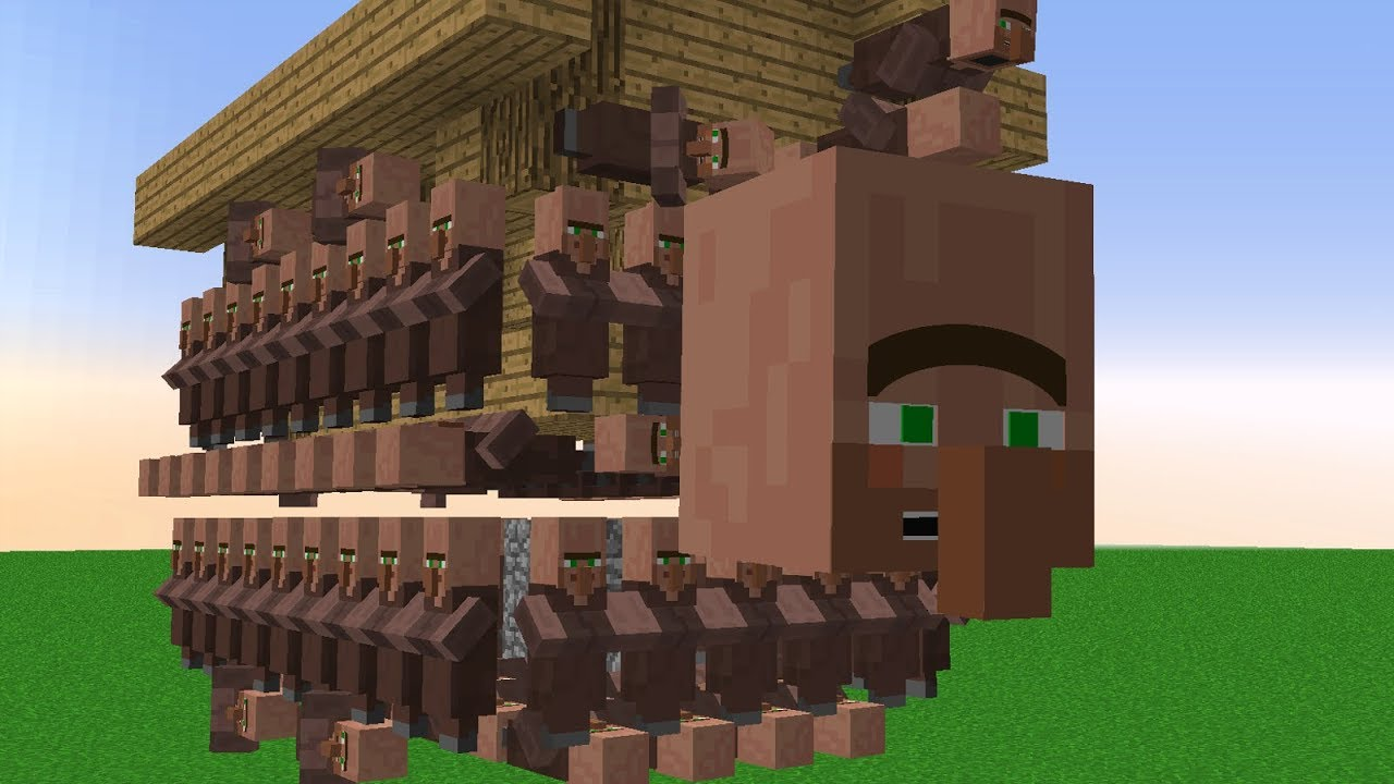 Minecraft | Cursed Images 09 (Villagers)