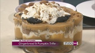 Studio 10: Gingerbread And Pumpkin Trifle