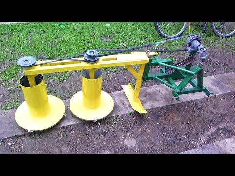 Homemade rotary mower