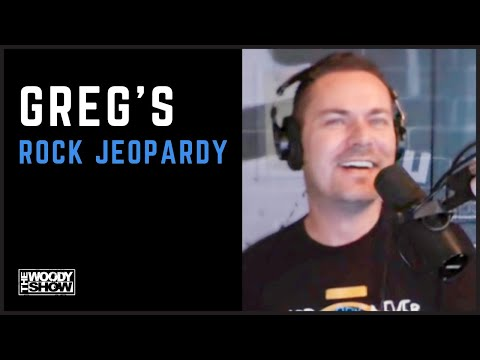 The Woody Show - Rock Jeopardy with Greg Gory