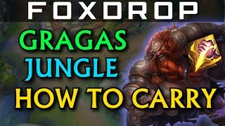 How to Carry #5 - Gragas Jungle - League of Legends (Unranked to Diamond)