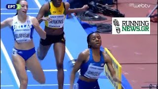 Ο ημιτελικός των 400μ στο Μπέρμιγχαμ - Μαρία Μπελιμπασάκη