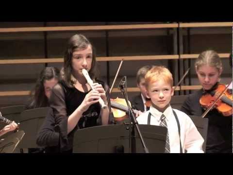 Toy Symphony - Montreal Suzuki Institute Christmas Concert 2011