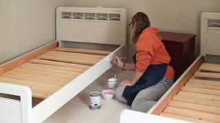 Μεταμόρφωση δωματίου με Annie Sloan Chalk Paint