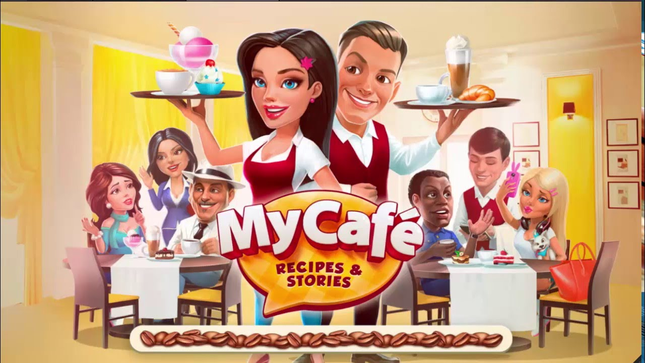 My Cafe Recipes 6 Installing Wallpaper Whipped Cream Youtube