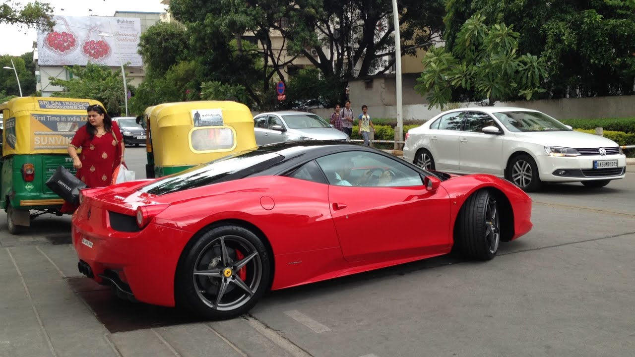 Ferraris In Bangalore (2014) ! LOUD SOUNDS.   YouTube