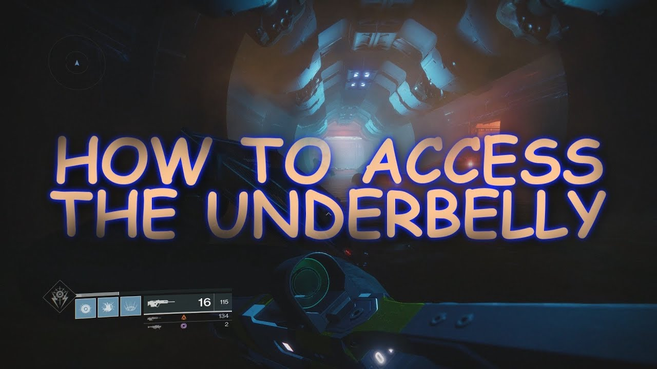 destiny 2 leviathan raid how to access the underbelly solo youtube