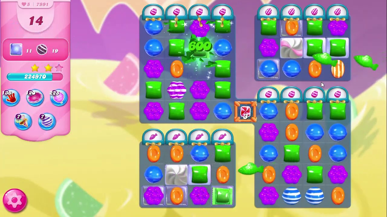 Download Candy Crush Saga LEVEL 7991 NO BOOSTERS