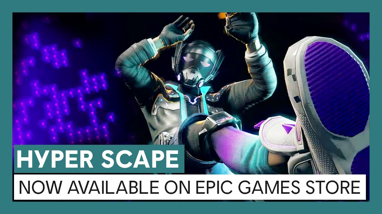 Hyper Scape - Epic Games Store Launch Trailer