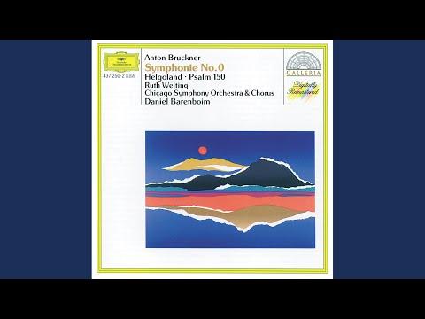 Bruckner: Helgoland for Men's Chorus and full Orchestra