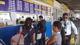 поездка в морской порт и покупка билетов. Как купить билет на паром на Филиппинвх