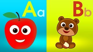 A for Apple Phonics Song with Two Words - ABC Alphabet Songs with Sounds for Children