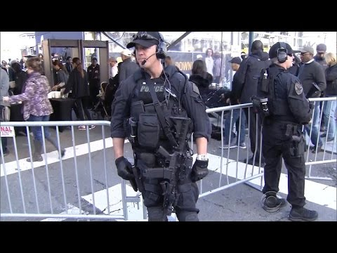 An inside look at the Super Bowl's security