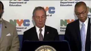 Mayor Bloomberg Announces NYC Students Achieved Record High Scores on Advanced Placement & SAT Exams