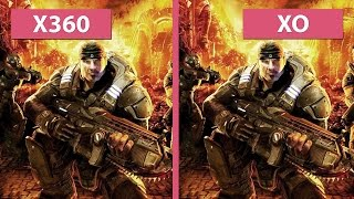 Gears of War – Xbox 360 vs. Xbox One Ultimate Edition (Beta) Graphics Comparison [60 fps][FullHD]