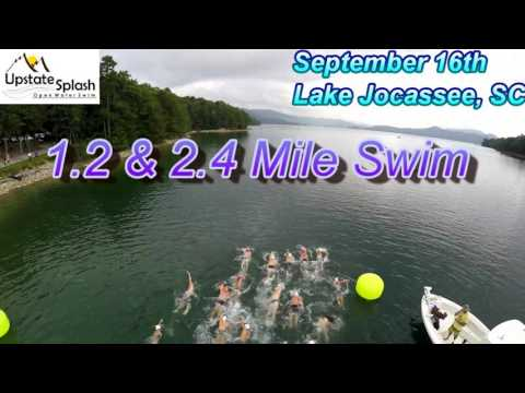 2017 Upstate Splash Charity Open Water Swim Lake Jocassee