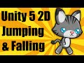 Unity 5 2d - Jumping and Falling - Mobil