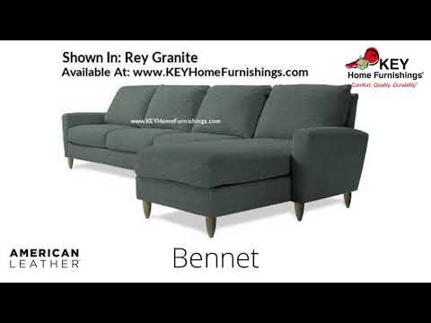 The Bennet Sectional | American Leather Cover Gallery – Fabric & Leather | Portland 2018