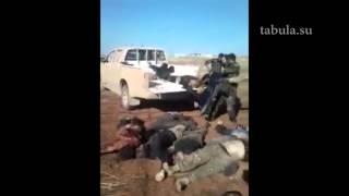 Группа террористов группировки 'Джабхат ан Нусра' уничтожена в районе Алеппо  18+