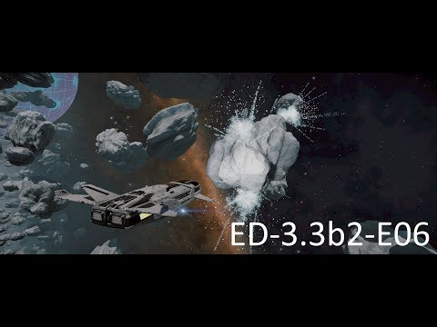 Elite Dangerous 3.3b2 E06 - Beluga As A Mining Ship!