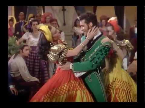 Cyd Charisse w/ Ricardo Montalbán & Ann Miller (1948) The Kissing Bandit