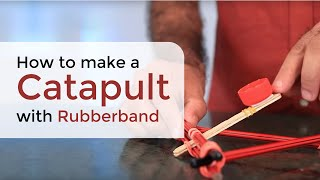 How To Make A Desktop Catapult - Cool Diy Science Experiment- Dartofscience