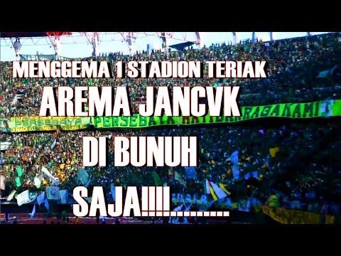 Chants Rasis Untuk Arema (1 STADIUM 1 CHANTS) Merinding Derby Jatim 6 mei 2018