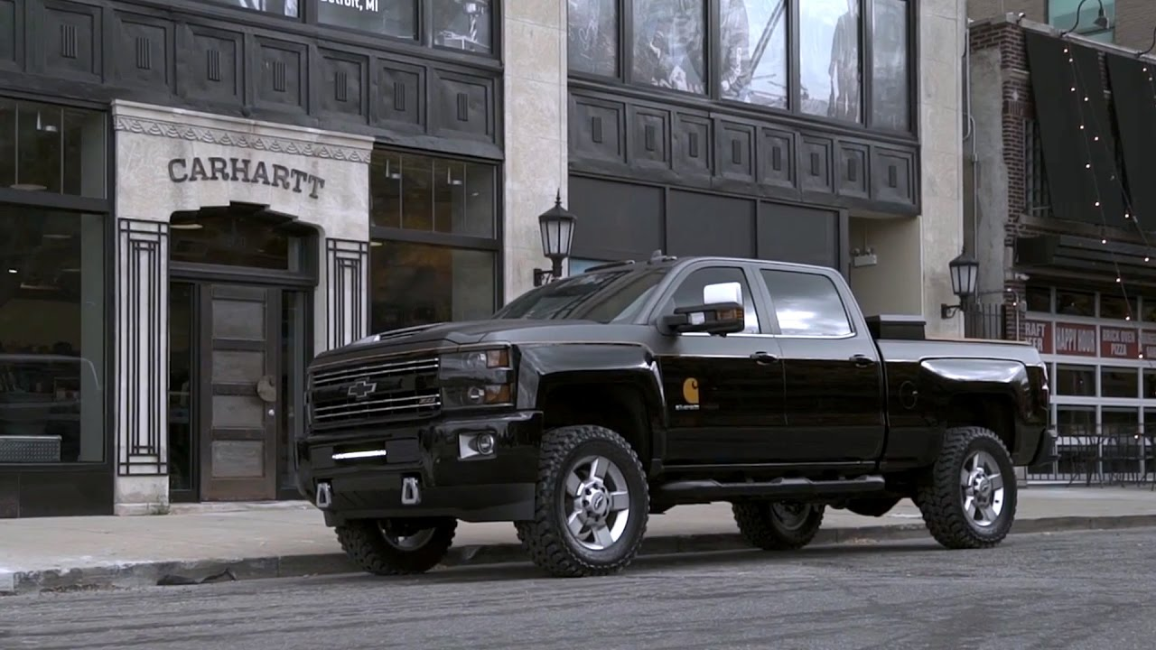 2017 chevrolet silverado 2500hd carhartt concept youtube. Black Bedroom Furniture Sets. Home Design Ideas