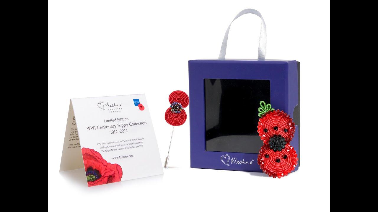 Poppy Bracelet British Legion - Alert Bracelet