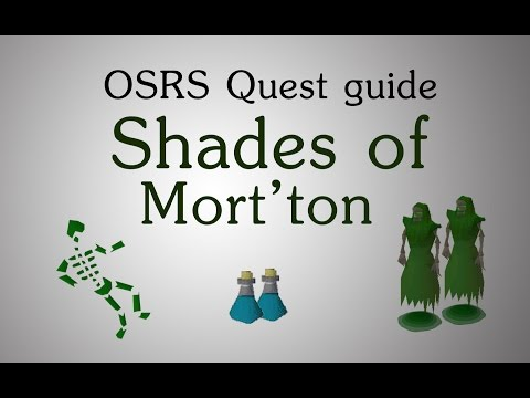 [OSRS] Shades of Mort'ton quest guide