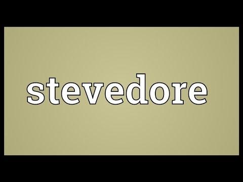 Stevedore Meaning