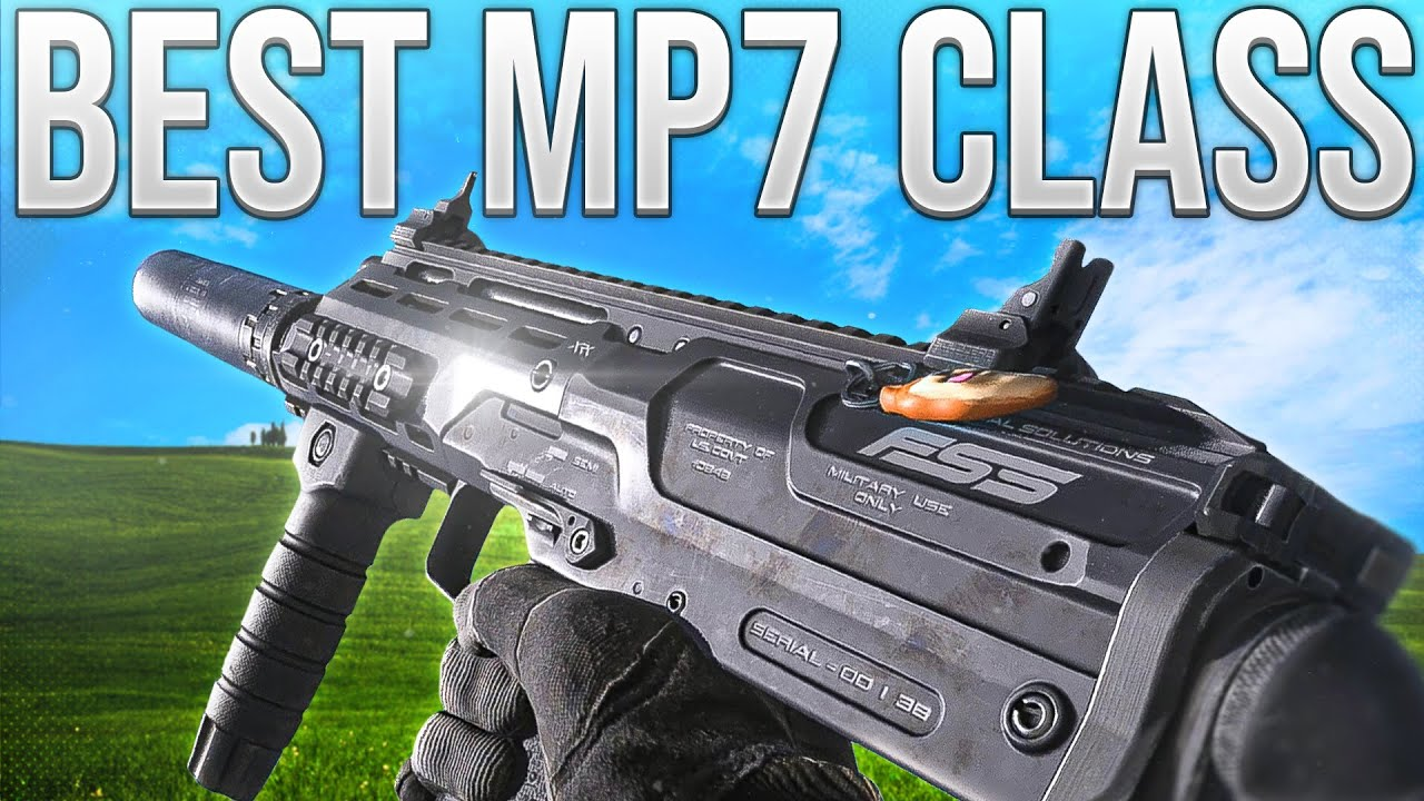 Warzone In Depth: Best MP7 Loadout