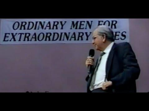 """Apostolic Attitude"" T.  F.  Tenney BOTT 1989"