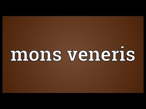 Mons veneris Meaning