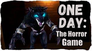 Прячемся и бегаем от Оборотня, страшная прикольная игра ◉ ONE DAY: The Horror Game