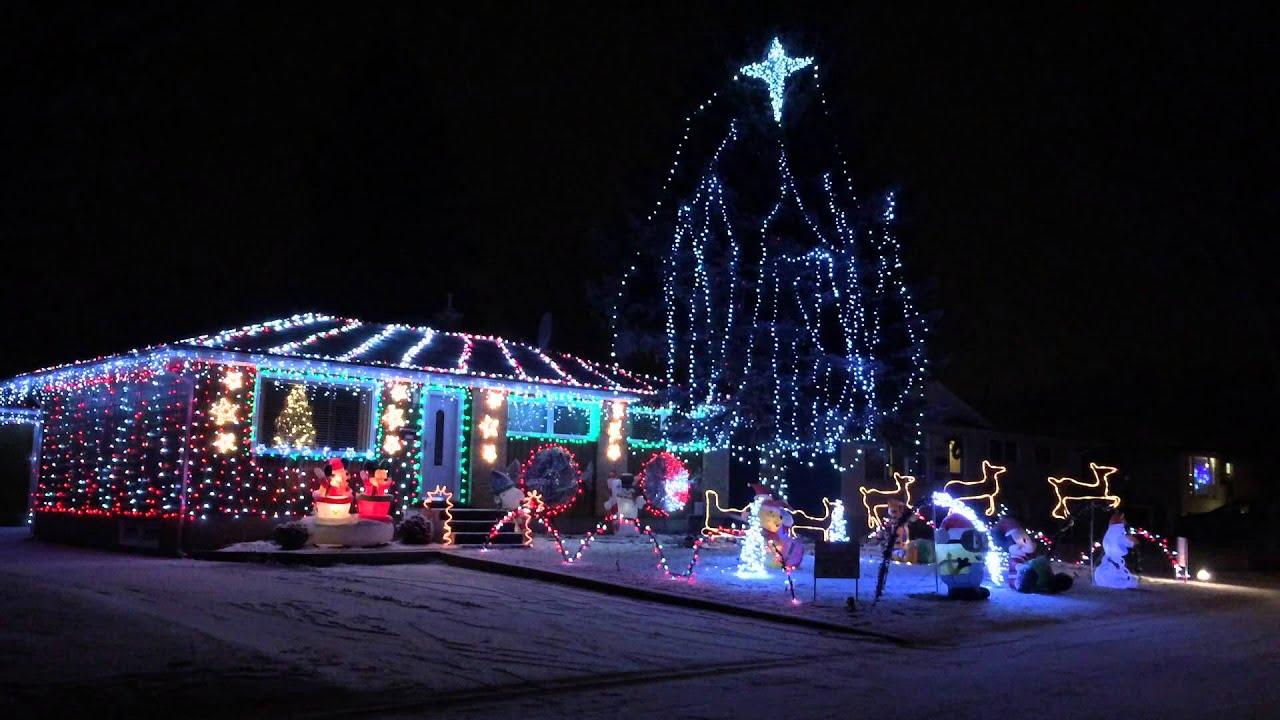 moose jaw light orama christmas light display 2015 frozen let it go