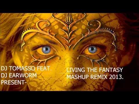 Dj Tomasso Feat  Dj Earworm present   Living the fantasy Mashup