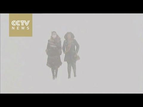 Freezing temperatures hit China's Inner Mongolia