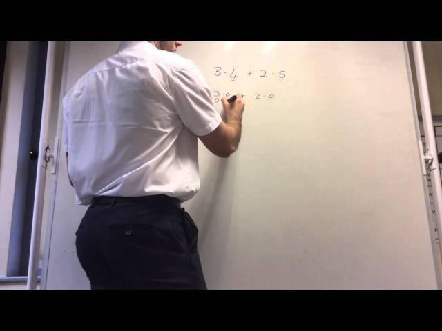 Adding decimals to 1dp