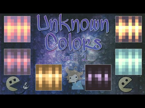 How To Get Unknown Colors. Part 2 |Pixel Gun 3D|