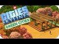 Cities: Skylines Green Cities ▶INTER-CITY PASSENGER LINK◀ Cities Skylines Green City DLC Part 29