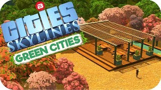 Cities: Skylines Green Cities ▶INTER-CITY PASSENGER LINK◀ Cities Skylines Green City DLC Part 29