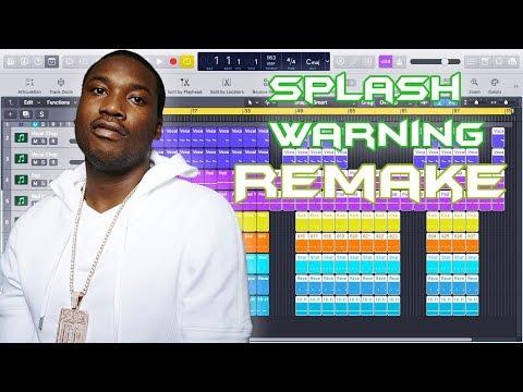 Meek Mill - Splash Warning Instrumental Remake (Production Tutorial)