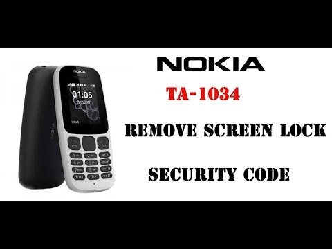 Cara Buka Kunci Pengaman Nokia//Cara Buka Kunci Nokia RM-1134//Cara Buka Kode Pengaman Nokia.
