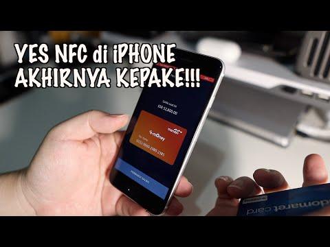 Cara Top Up E-Money Pakai NFC Di IPhone