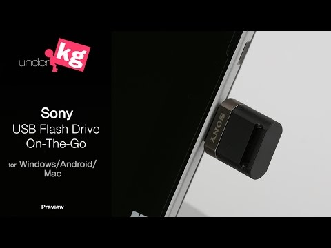Sony USB Flash Drive On-The-Go Preview [4K]