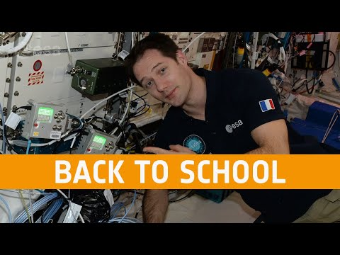 Back to school with Thomas Pesquet