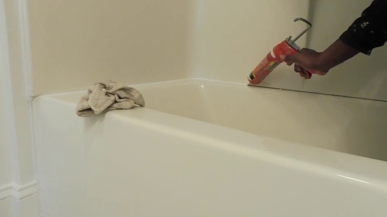 DIY How To Re Caulk Bath Tub