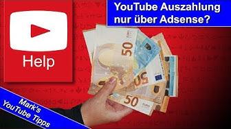 YouTube Auszahlung - gibt es eine Alternative zu Google AdSense?